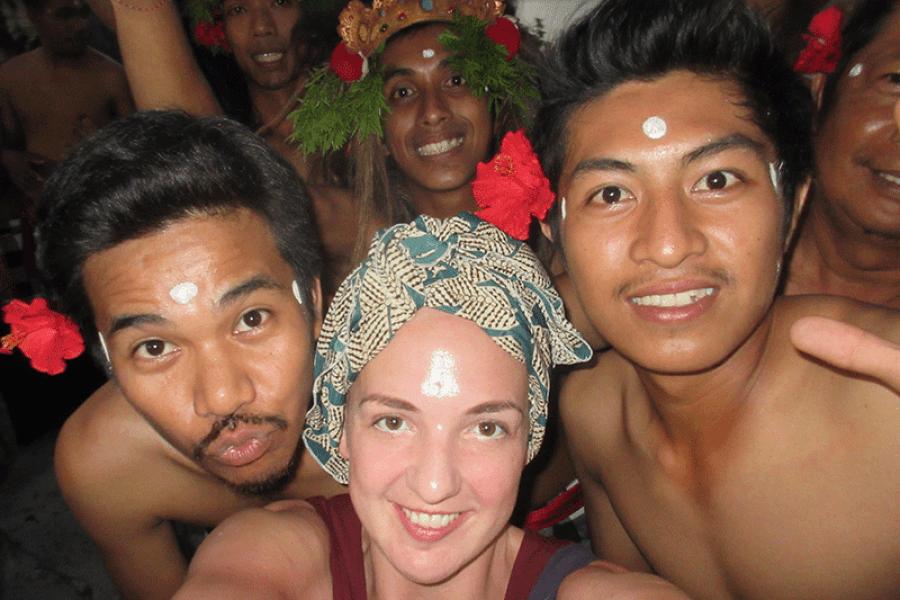 Headscarfs in Bali