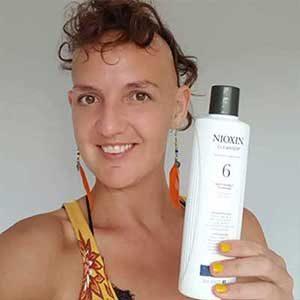 emma holding bottle