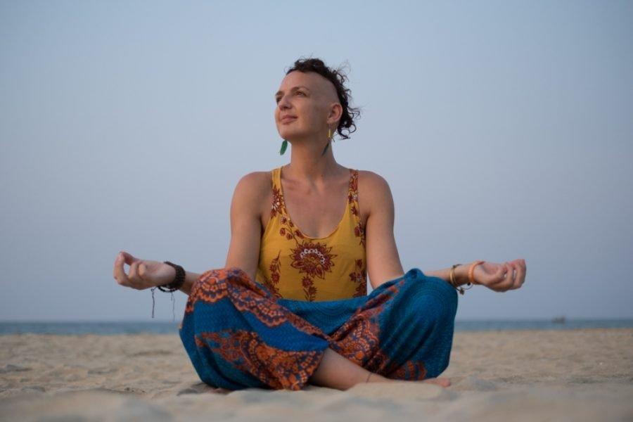 Em meditating