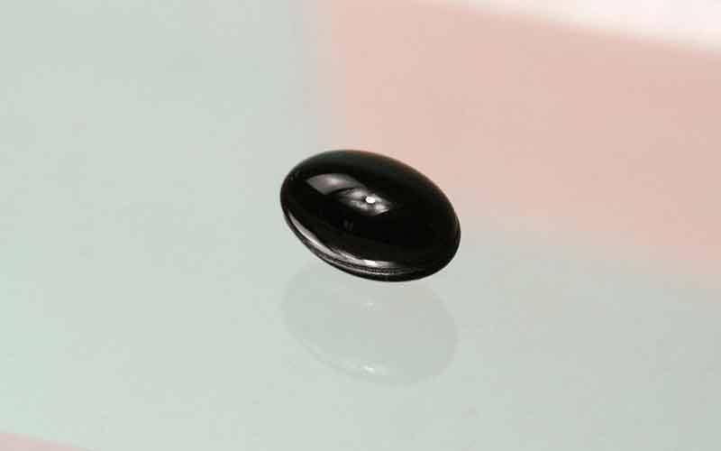 A capsule of Astaxanthin