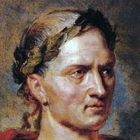 Julius Caesar bald