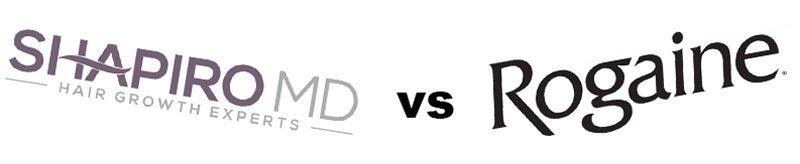 rogaine vs shapiro logos