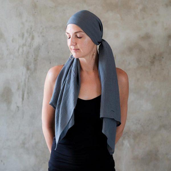 Grey-Pirate-Headscarf