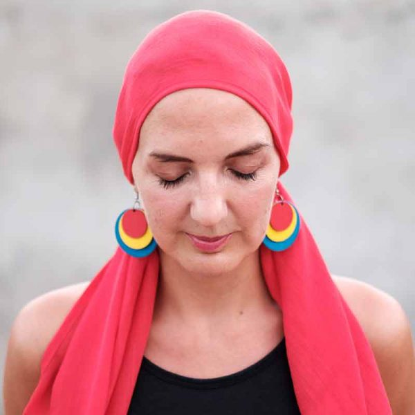 Red-Bamboo-Headscarf