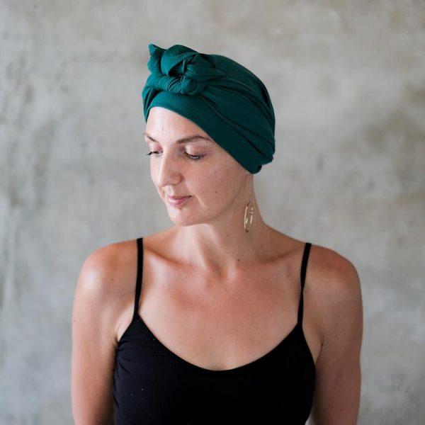 Dark-Green-Headscarf