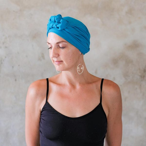 Turquoise-Headscarf