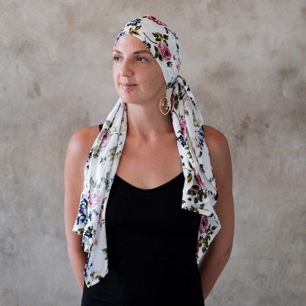 floral-white-headscarf