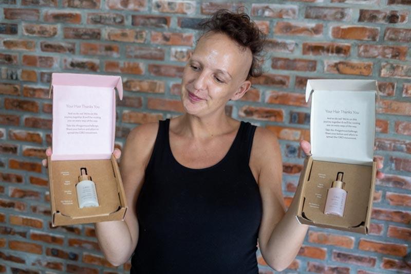 vegamour packaging
