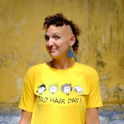 Emma with Bad Hair Tshirt